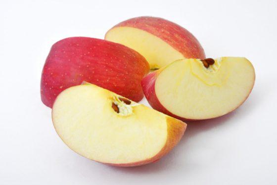 やわらかいリンゴはすりおろしりんごの味